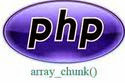 array_chunk() in php