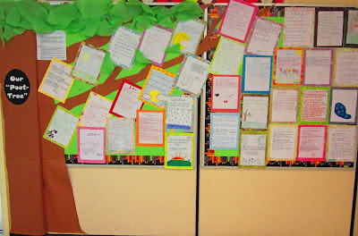 photo of Poet-Tree bulletin board @ Runde's Room