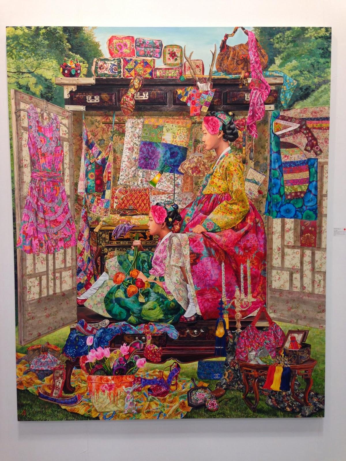 非具象繪畫課程: 2013臺北國際藝術博覽會
