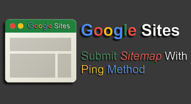 Google Sites: Submit Sitemap