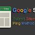 Google Sites: Submit Sitemap