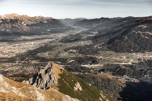 Panorama Foto Saile Innsbruck Stubai MTB