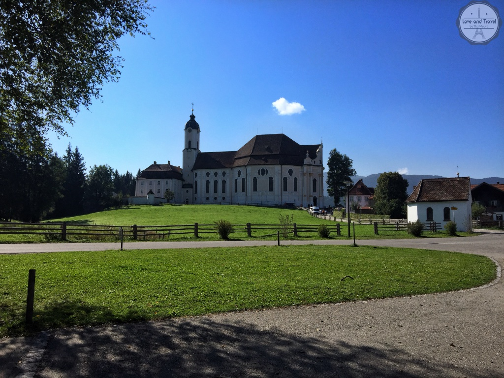 Wieskirche Rota Romantica Alemanha