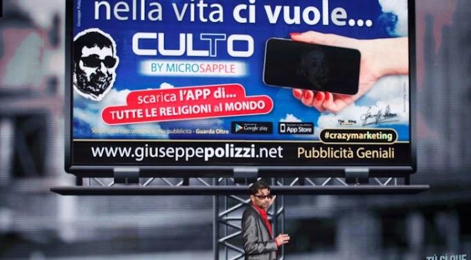 Giuseppe Polizzi: ''Ecco perchè sono il genio della pubblicità''