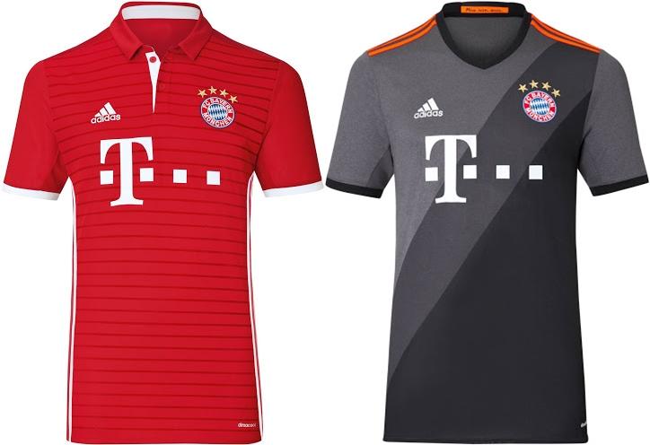 as camisas dos principais clubes europeus para temporada