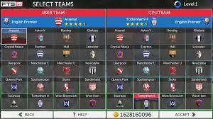 Select teams