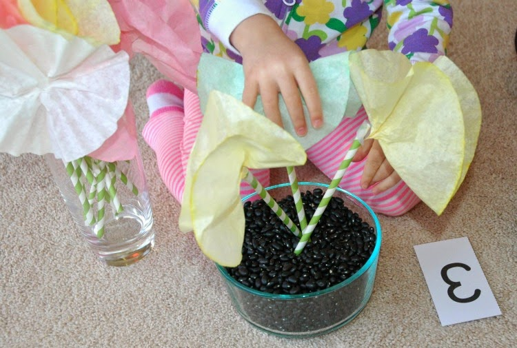 Math Activity for Spring Theme- Weekly Homeschool Preschool