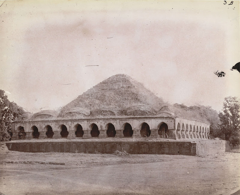 The Rasmancha Temple, Bishnupur, Bankura District, Bengal - 1872