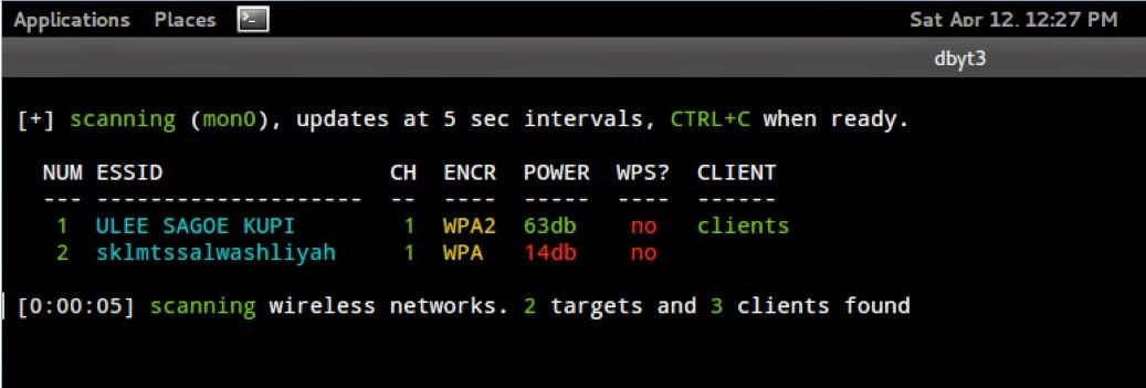 Cara Hack wifi via Termi
