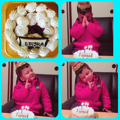 CUTE NEPALI GIRL CELEBRATING HER BIRTHAY