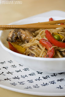 (Stir-fry z kurczakiem w pieprzu syczuańskim