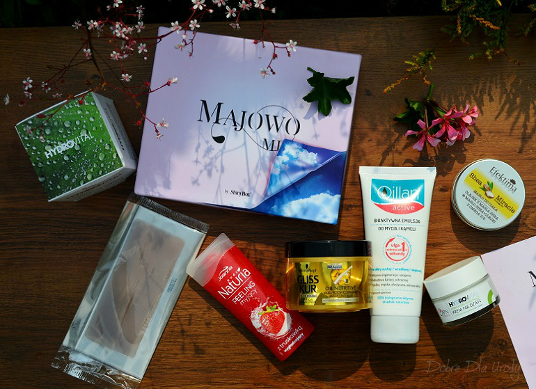 ShinyBox Majowo Mi - recenzja produktów z majowego pudełka