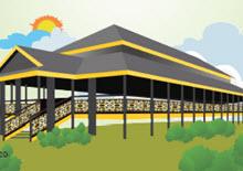 Rumah Adat Kaltim