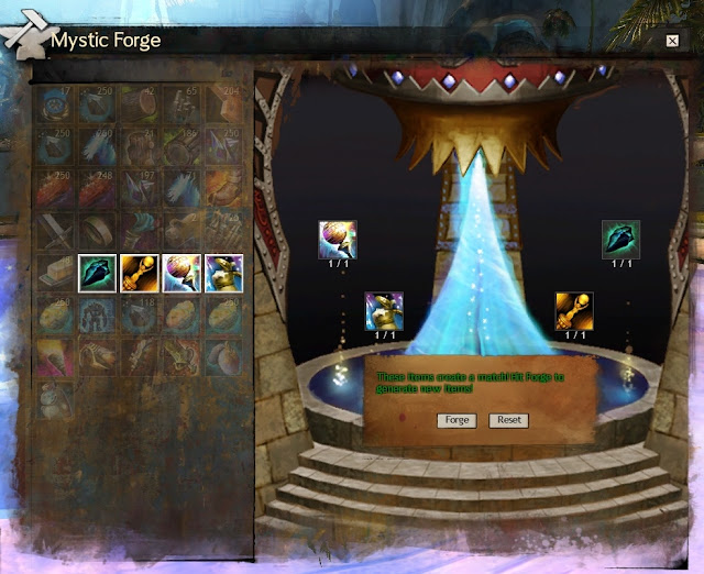 Guild Wars 2 GW2 moot mystic forge toilet legendary
