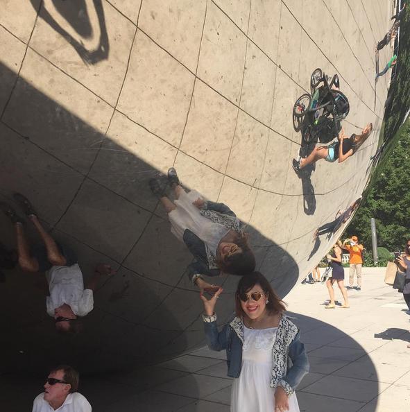 sculpture The Bean à Chicago