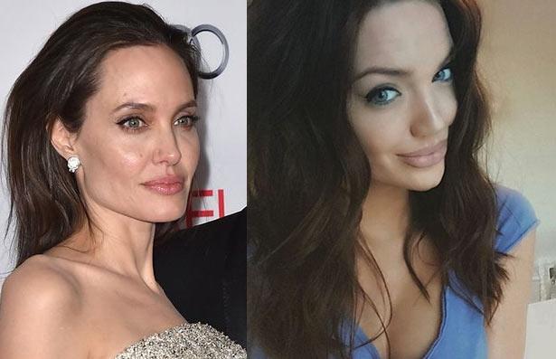 Brad Pitt has an option already: Meet Angelina Jolie's acute look alike, Chelsea Marr