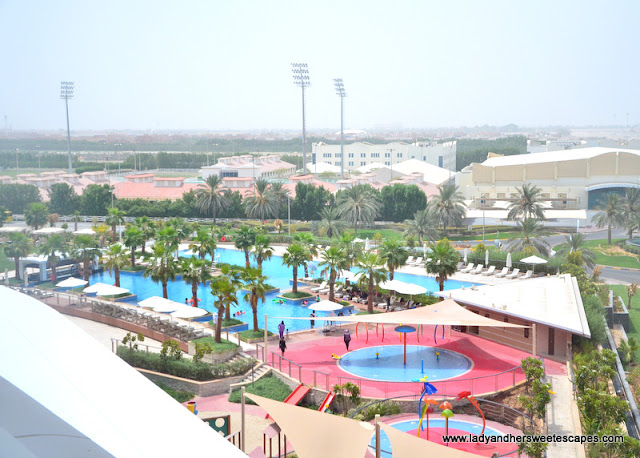 view of Marriott Hotel Al Forsan Outdoor Pool