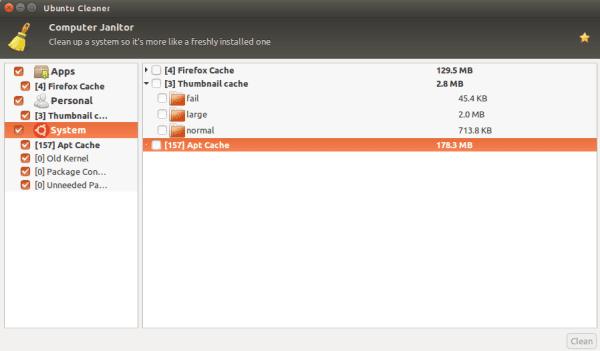 Install Ubuntu Cleaner Untuk Hapus File Sampah di Ubuntu