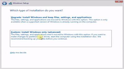 Tutorial Cara Install Windows 8.1 Dengan Mudah Di Lengkapi Dengan Gambar
