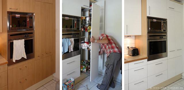 wir renovieren ihre k che dekor der fronten l st sich nach jahren ab was tun. Black Bedroom Furniture Sets. Home Design Ideas