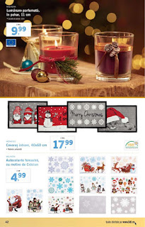 CATALOG LIDL 3 - 9 decembrie 2018 decoratiuni bradul de craciun