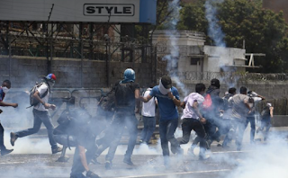 New Venezuela Clashes, US Voices 'Grave Concern'