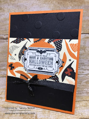 Stampin' Up! Labels to Love created by Tammy Nelson for Sept Stamping to Share Demo Meeting Swap.
