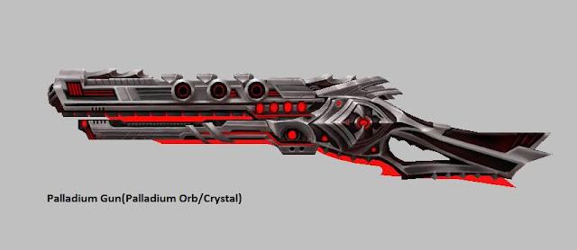 Palladium Gun [Palladium Orb] Force Gunner