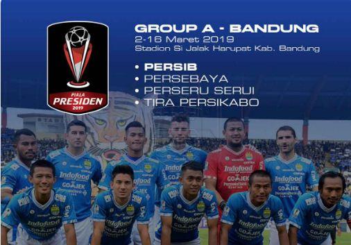 Jadwal Persib di Piala Presiden 2019