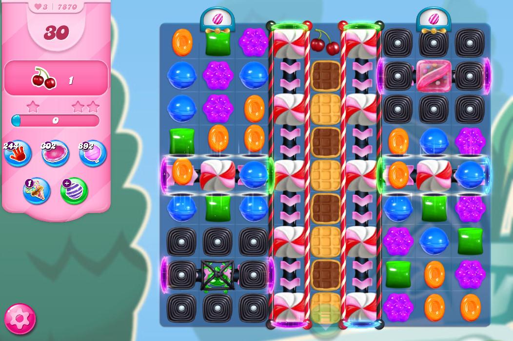 Candy Crush Saga level 7870