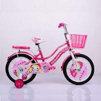 16 golden space girl ctb sepeda anak