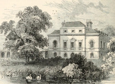Brandenburg House from Old and New London by E Walford (1878)