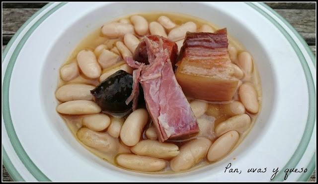 Fabada asturiana en Crock-Pot