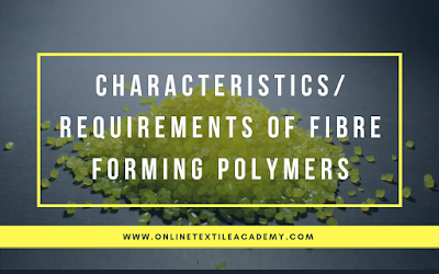 Fibre Forming Polymers