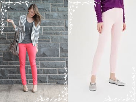 pembe-renk-pantolon-modelleri-lila-gri-kombini