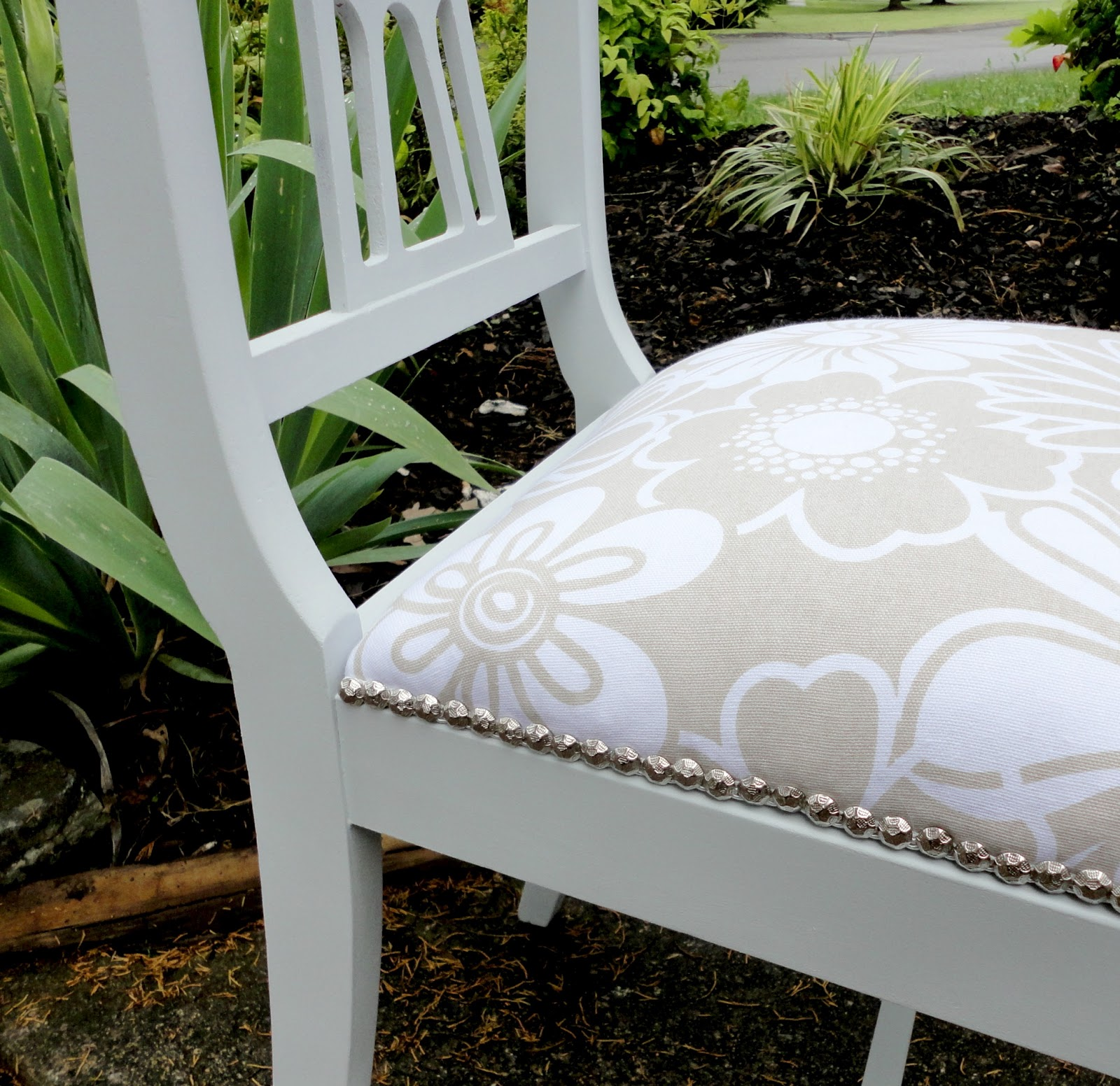 reupholstering a chair poly rocking lancaster pa livelovediy how to reupholster