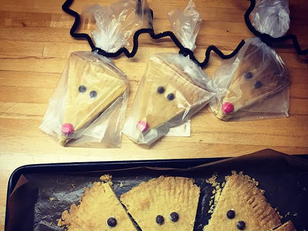 Christmas treats #2: Rudolph Shortbread