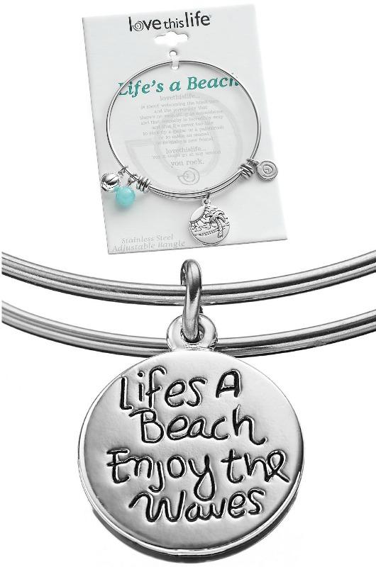 Life's a Beach Charm Bracelet