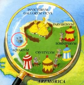 Descubriendo mundo con peques: La Aldea Gala de Astérix: Erquy