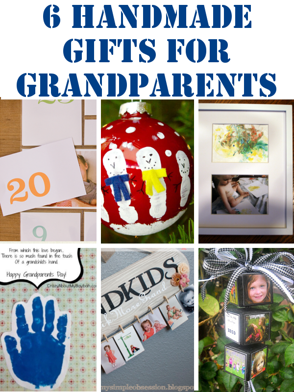 DIY Home Sweet Home: Handmade Gifts for Grandparents