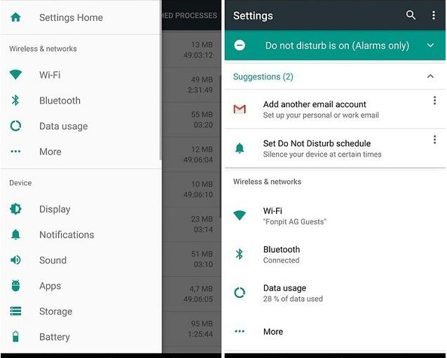 Tips dan trik android Versi Nougat