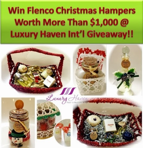 flenco beauty products christmas hamper giveaway
