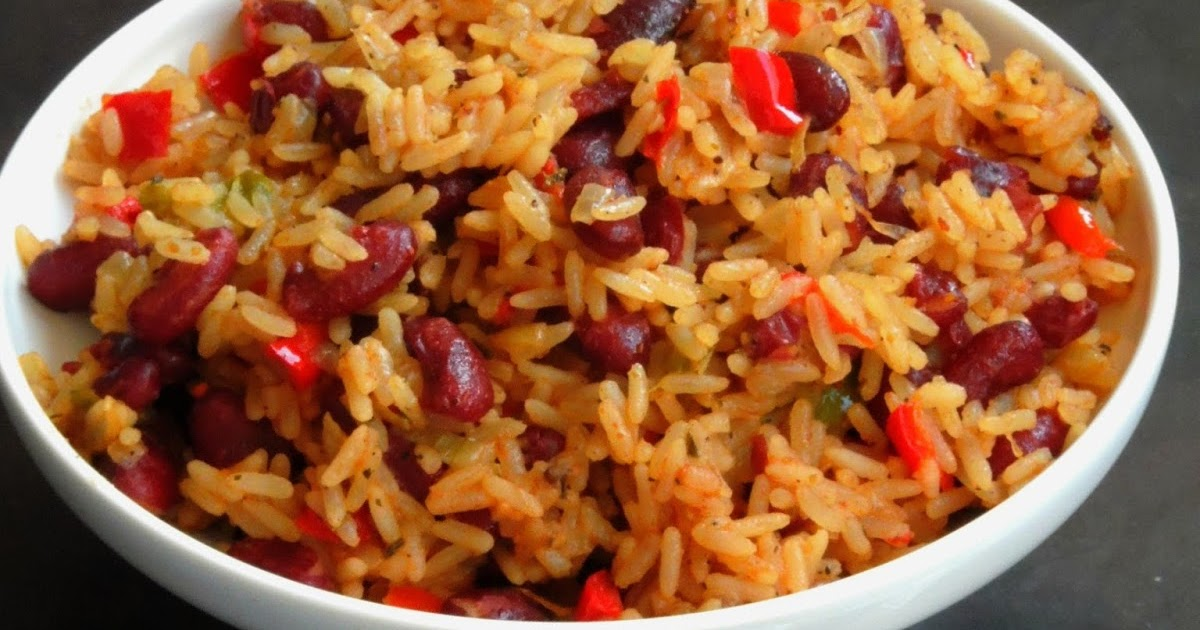 ... Versatile Recipes: Arroz Congri/Vegan Cuban Red Kidney Beans Rice