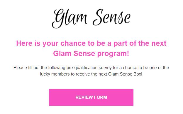 New Glam Sense Product Box Coming!