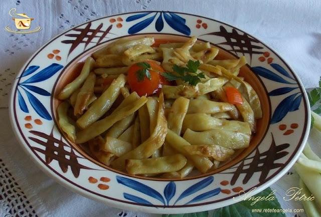 Reteta pastai aite, reteta fasole verde cu usturoi