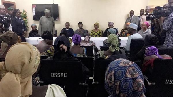 Full List of Names of the Released 21 Chibok Girls