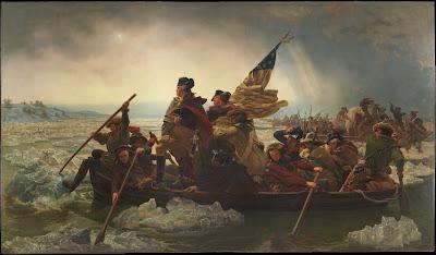 Washington Crossing the Delaware, Emanuel Leutze (1851)