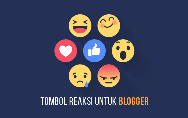 Cara Membuat Tombol Reaksi di Blogger Dengan ShareThis