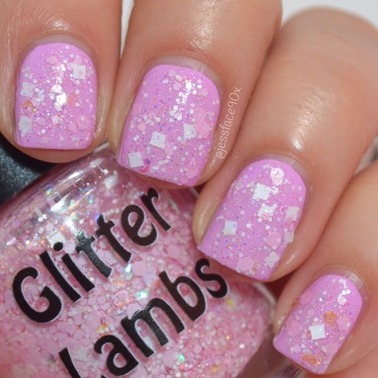 It's So Fluffy Glitter Lambs Nail Polish