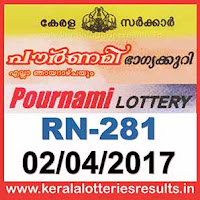 pournami lottery result today rn 281, keralalotteriesresults.in-2017-04-02-rn-281-live-pournami-lottery-results-today-kerala-lottery-result, kerala-government-result-gov.in, picture, image, images, pics, pictures